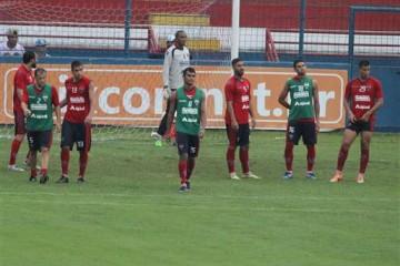 O técnico Flávio Araújo relacionou 20 jogadores para a partida contra o Guarany (FOTO: Divulgação/Fortaleza EC NET)