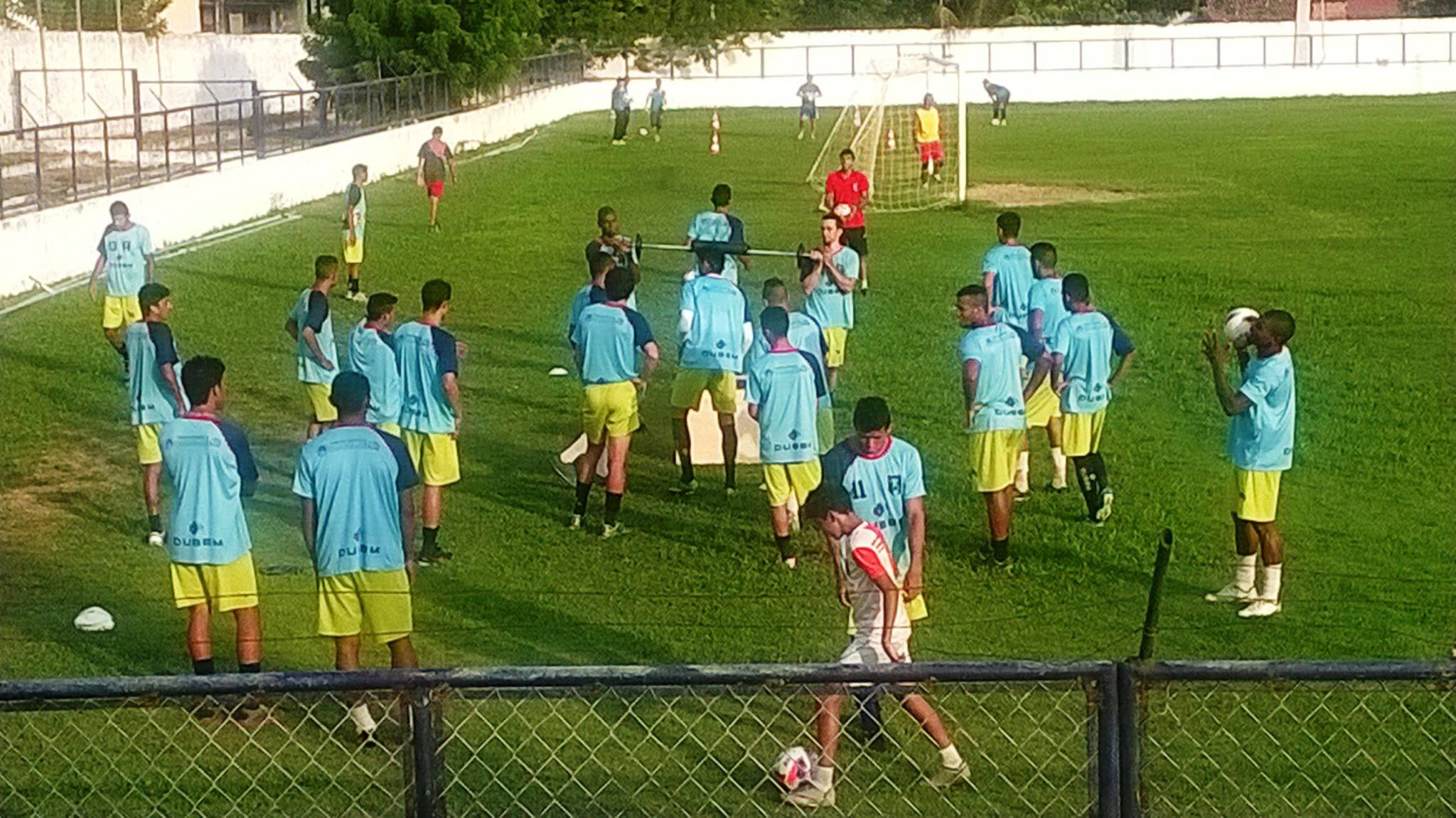 A equipe do Itapajé corre para estrear no Estadual (FOTO: Reprodução/Facebook)