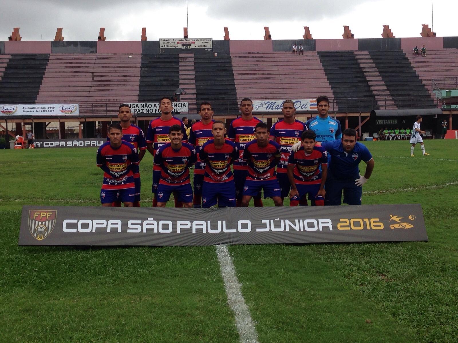 O Fortaleza perdeu a primeira na Copinha (FOTO: Divulgação/Fortaleza Esporte Clube)