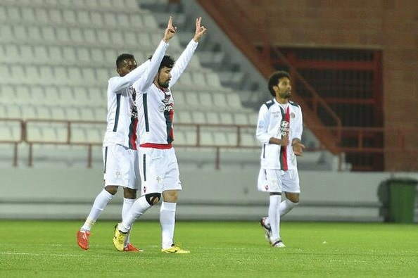 Ricardinho marcou um golaço em sua estreia na Arábia (FOTO: Divulgação)