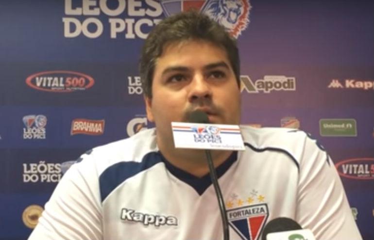 O médico falou da situação dos jogadores (FOTO: Reprodução/TV Leão)