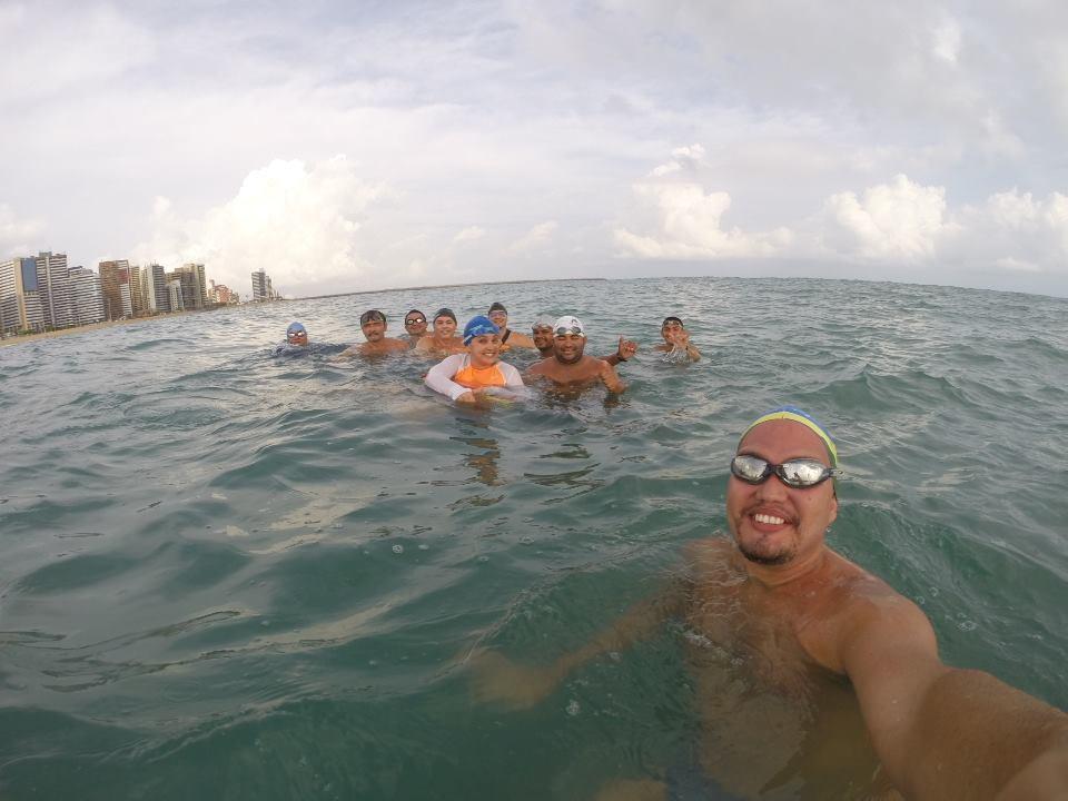 O grupo Sharks se prepara para as duas principais travessias do Brasil (Foto: Arquivo pessoal)