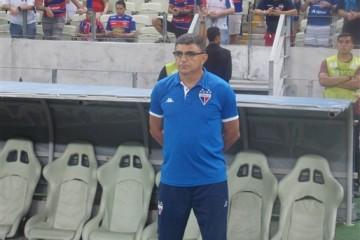 O treinador comanda o Leão pela terceira vez na sua carreira (FOTO: Fábio Marques/FortalezaEC))