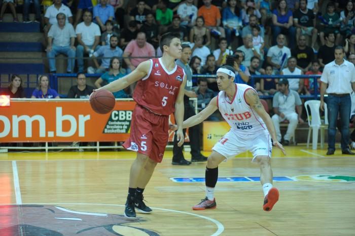 Davi Rossetto mais uma vez foi um dos destaques do Basquete Cearense (Foto: Brito Júnior/Divulgação)