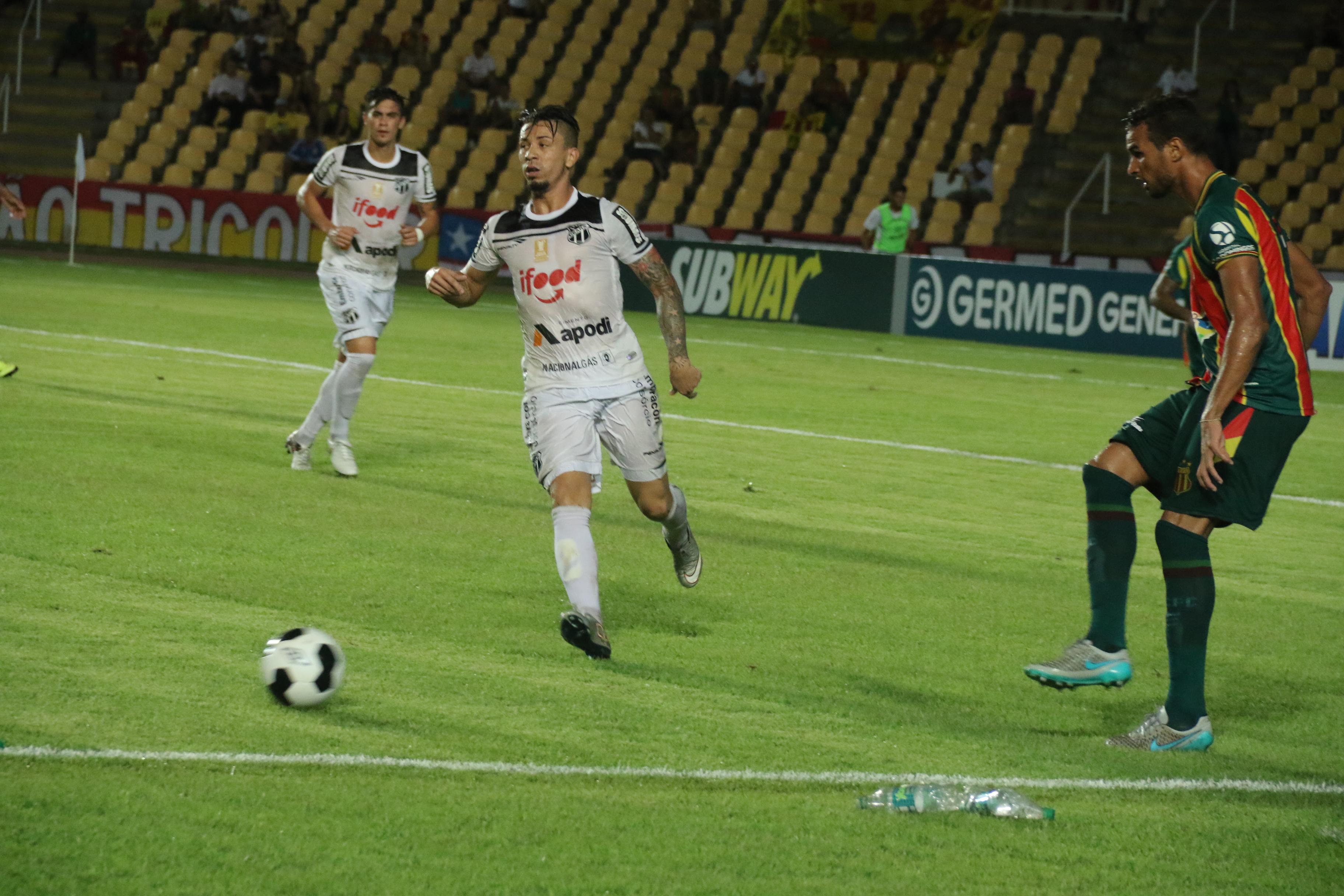 O Vovô fez o segundo confronto fora de casa na Copa do Nordeste 2016 (Foto: Elias Auê/Sampaio Corrêa FC)