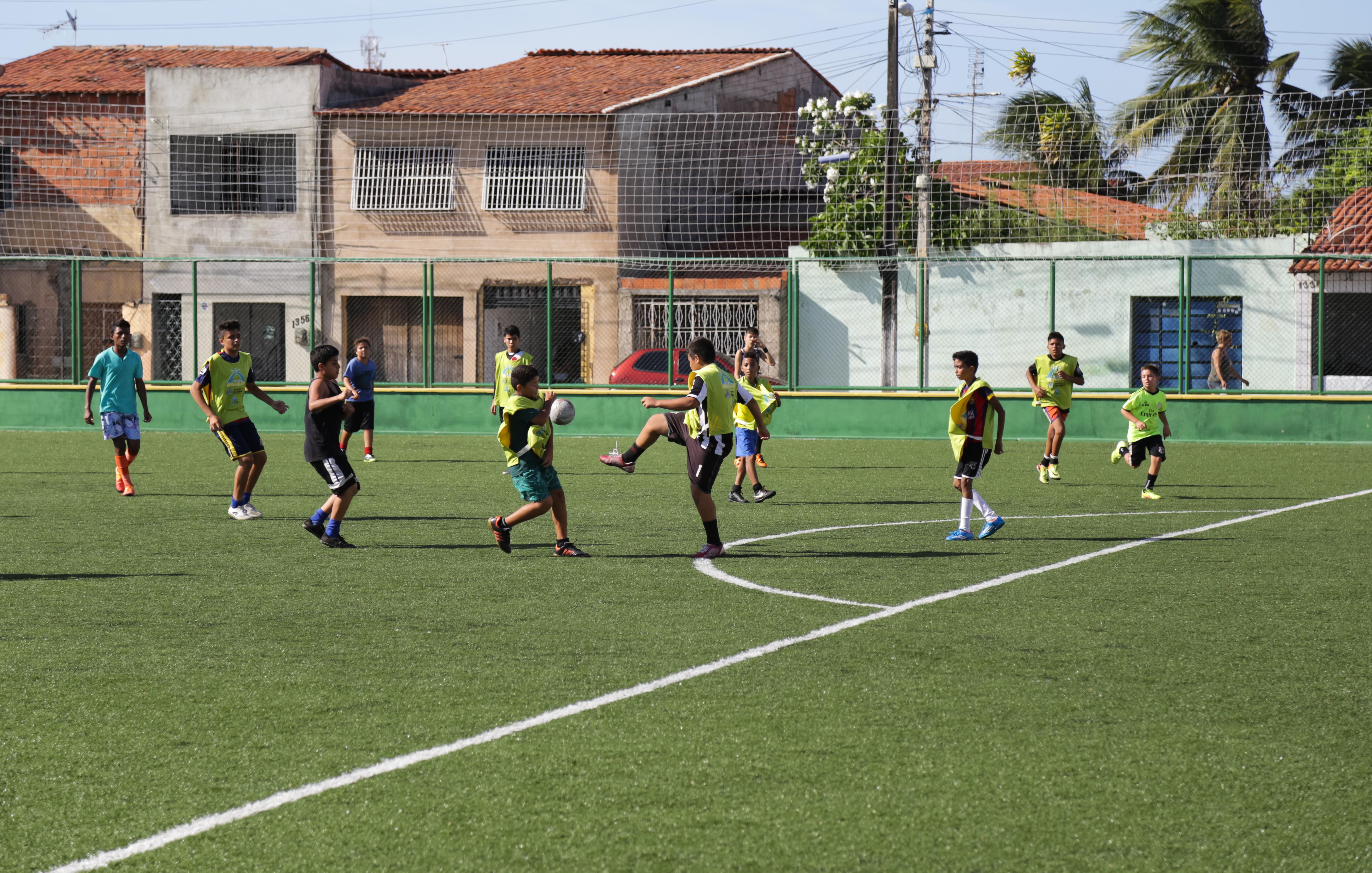 Outros bairros da Capital já ganharam suas Areninhas (FOTO: Divulgação)