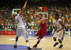 Jogador Duda Machado do Solar Cearense (FOTO: Antonio Penedo/Mogi-Helbor)