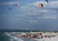 O Iron Macho é um torneio de kitesurf (FOTO: Reprodução/Facebook)