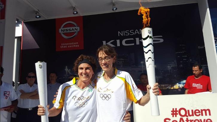 Famosos contam experiência sobre passagem da tocha olímpica por Fortaleza