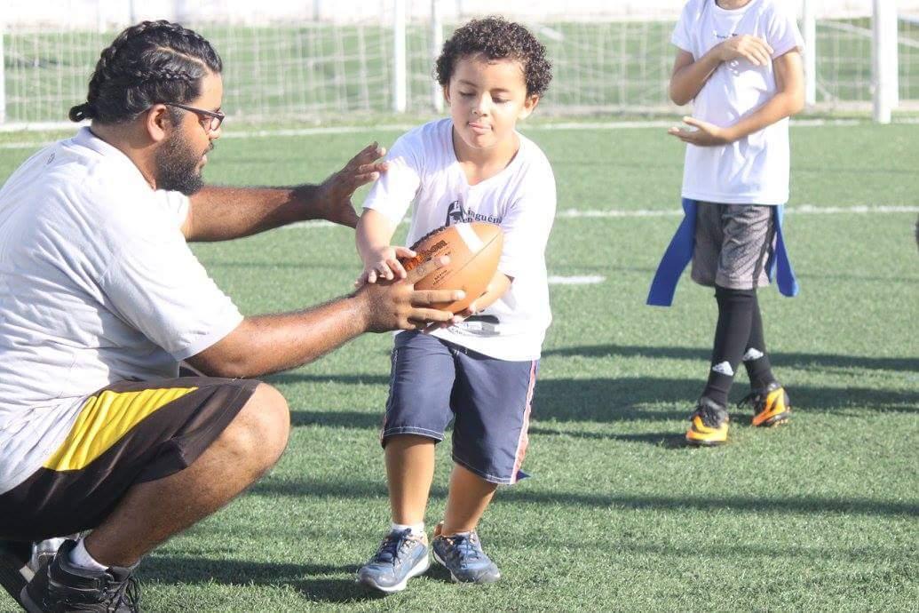 Ceará Caçadores inaugura escola de futebol americano para crianças