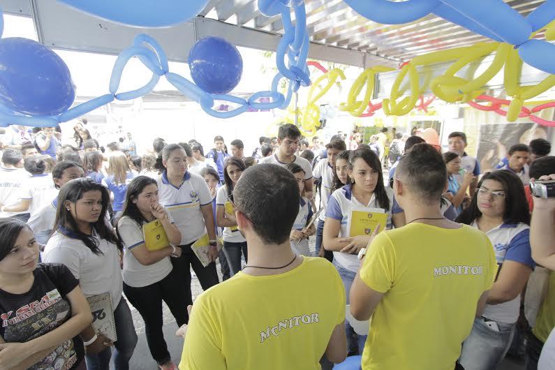 Os alunos serão recepcionados por professores, coordenadores, monitores e universitários (Foto: Divulgação)