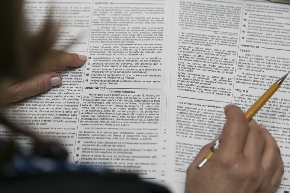 O Enem é considerado um mecanismo de democratização do acesso às políticas públicas de educação (FOTO; Divulgação)