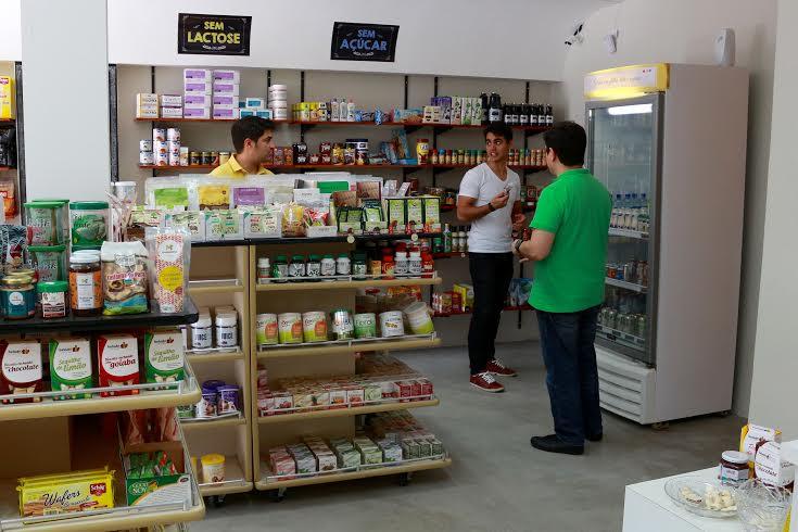"""O estabelecimento é dividido em seis seções com opções saudáveis e saborosas, como a """"Sem Lactose"""", """"Sem Glúten"""", """"Sem Açúcar"""", """"Veggie"""" , """"Orgânicos"""" e """"Gourmet"""" (FOTO: Divulgação)"""