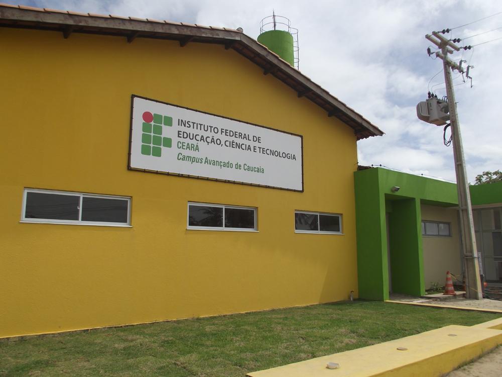 Vários cursos estão sendo ofertados pelo IFCE (FOTO: Divulgação)