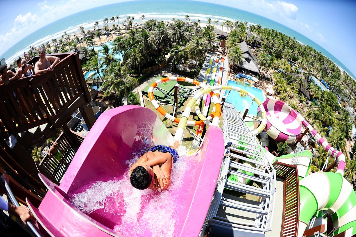 Beach Park recebe mais de 1,1 milhão de visitantes por ano