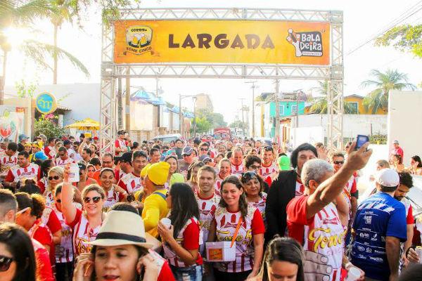 A irreverente corrida já está na 6ª edição (Foto: Divulgação)