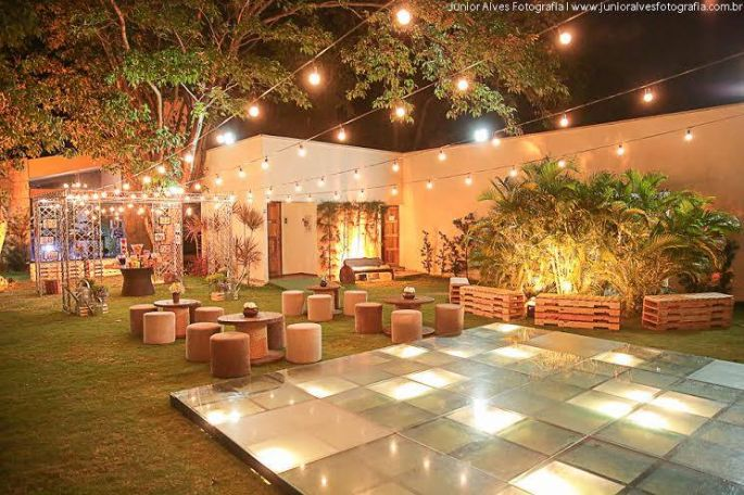 Casamentos em locais abertos viram tend ncia entre noivos for Casa jardin buffet