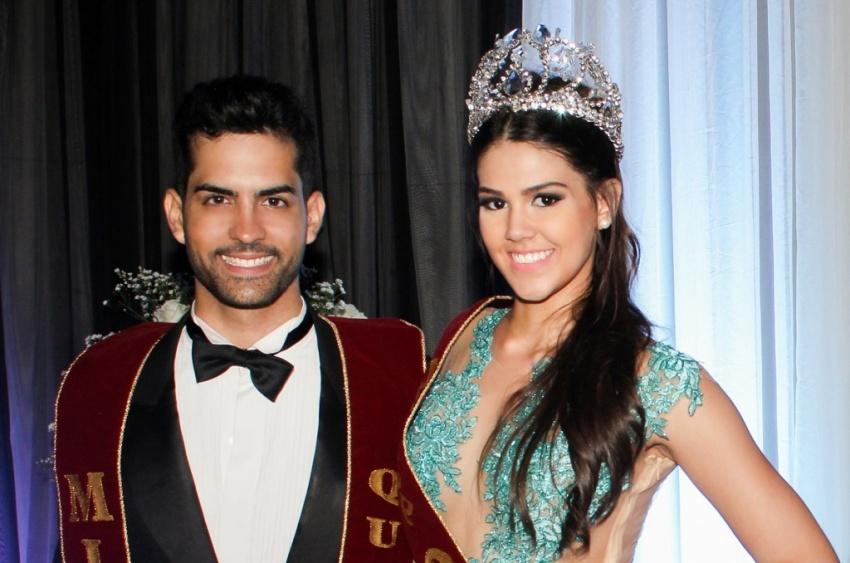 Nova Miss Ceará e Mister Quixadá são namorados e estudam na mesma sala