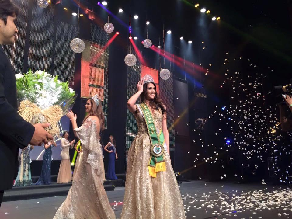 Morgana Carlos, de Quixadá, é escolhida Miss Ceará 2016