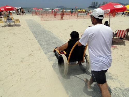 Os equipamentos vão ser instalados no aterrinho da praia de Iracema. (Foto: Reprodução)