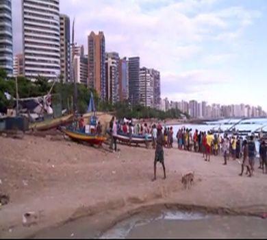 Esgoto a céu aberto na Avenida Beira-Mar: do luxo ao lixo