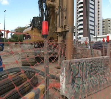 Obras do túnel do Cocó estão dentro do cronograma