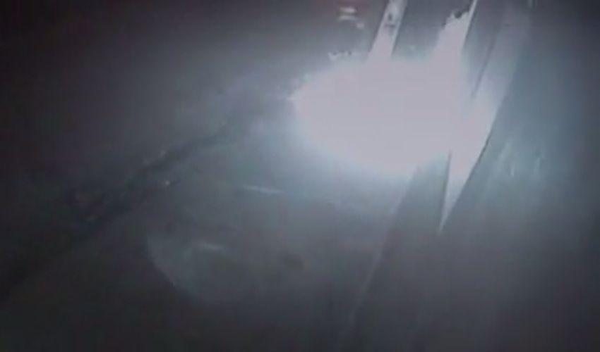 Homem coloca fogo em estabelecimento (FOTO: Reprodução TV Jangadeiro)