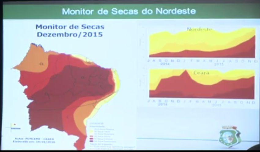Os próximos três meses não devem ser de muita chuva no Ceará(FOTO: Reprodução TV Jangadeiro)