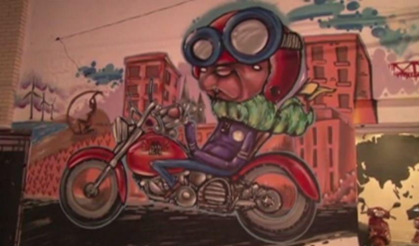 Mercado de locação de motos em Fortaleza (FOTO: Reprodução TV Jangadeiro)