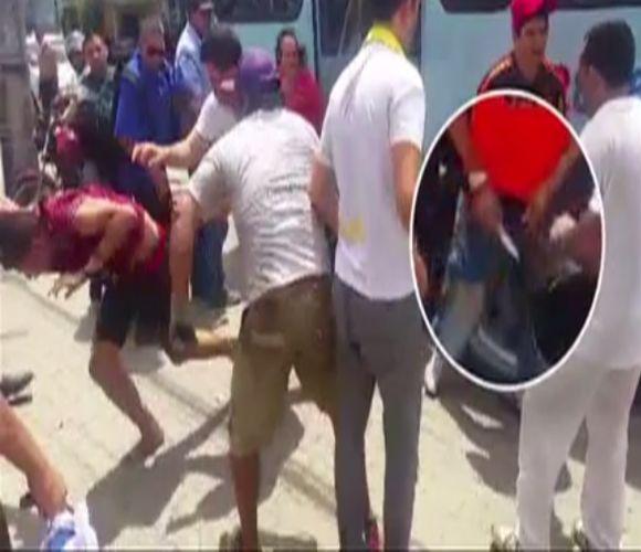 Jovem tentou assaltar ônibus e foi morto pelos passageiros (FOTO: Reprodução TV Jangadeiro)
