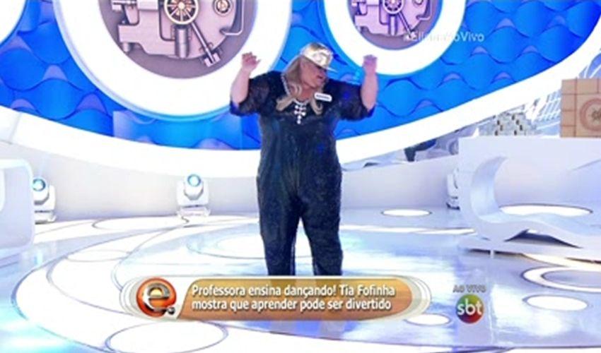 Tia Fofinha ganha o Brasil (FOTO: Reprodução TV Jangadeiro)