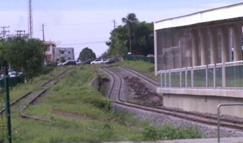 Obras do VLT vão ser retomadas neste mês (FOTO: Reprodução TV Jangadeiro)