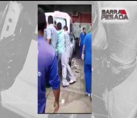 Mulher em trabalho de parto fica presa em ambulância (FOTO: Reprodução TV Jangadeiro)