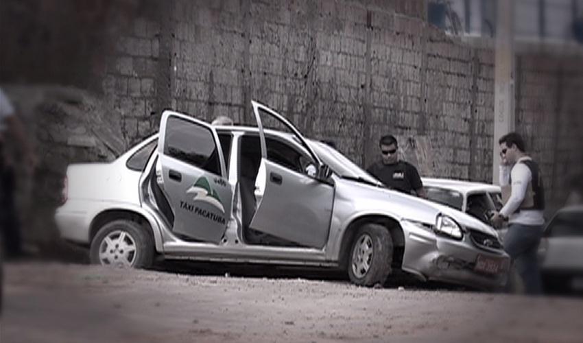 Taxista assaltado diz que deixou de confiar nos passageiros (FOTO: Reprodução TV Jangadeiro)