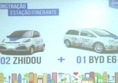 Carros compartilhados em Fortaleza(FOTO: Reprodução TV Jangadeiro)