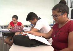 Já são 39 dias sem aulas oficiais (FOTO: Reprodução TV Jangadeiro)