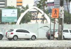 Etufor vai instalar paradas temporárias próximo a obra da Praça Portugal (FOTO: Reprodução TV Jangadeiro)