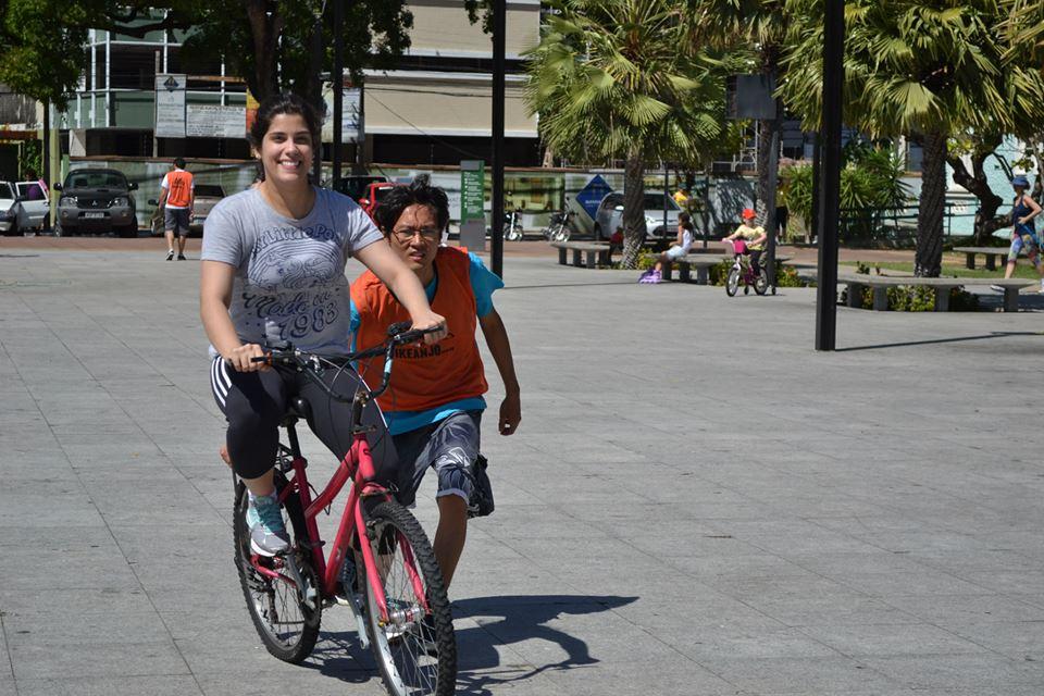 Ações em torno do uso da bicicleta tornaram-se comuns em Fortaleza (FOTO: Divulgação/Ciclovida)