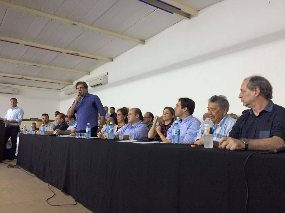 Lideranças do Pros criam comissão para avaliar situação partidária nos municípios do Ceará