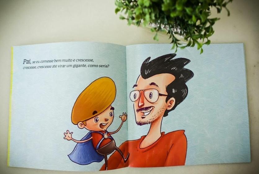 Marcela Cavalcante escreveu livro para servir como lembrancinha de aniversário do filho (FOTO: Arquivo pessoal)
