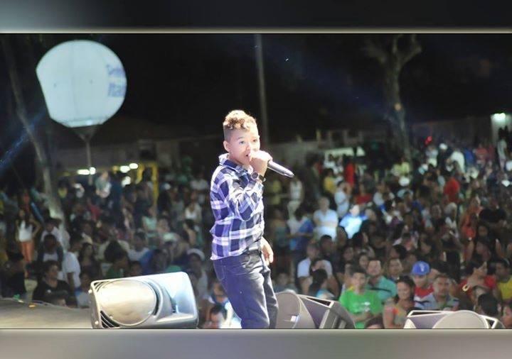 Primeiro show do garoto foi em Crateús (FOTO: Divulgação)
