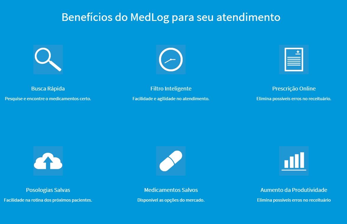 O site foi lançado em junho de 2015 e é destinado a médicos, estudantes de medicina e a todos os profissionais que prescrevem receitas (IMAGEM: Reprodução)
