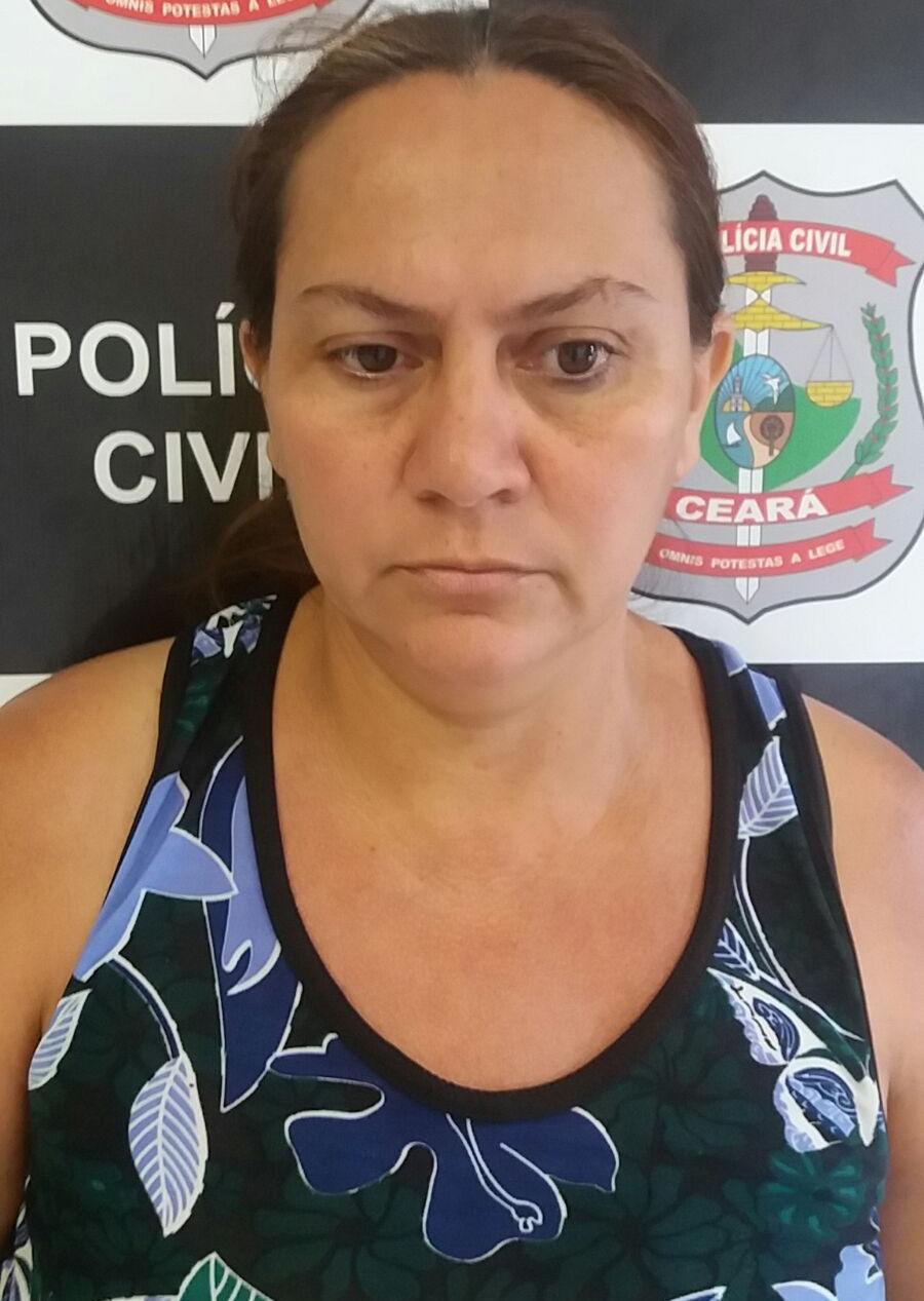Francilene Carneiro foi capturada em seu bar, localizado no Bairro Caça e Pesca (FOTO: Divulgação/SSPDS)