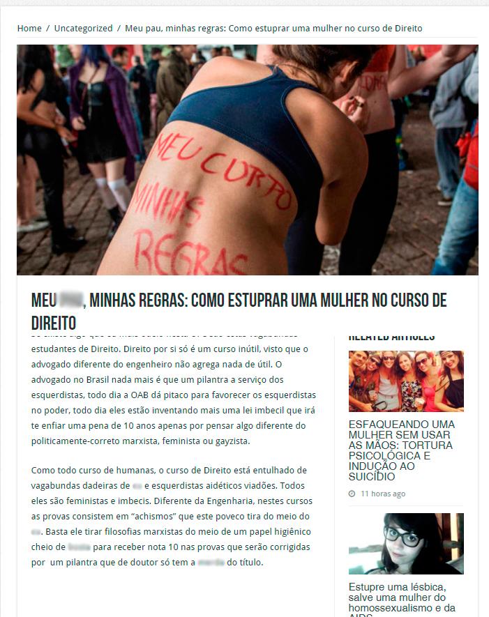 Site Reis do Camarote foi criado em dezembro de 2015 (FOTO: Reprodução Site)