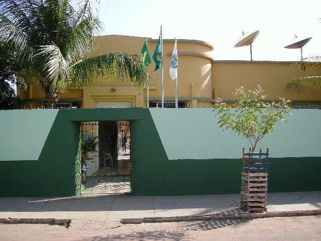 Escola Estadual Júlia Catunda, em Santa Quitéria (FOTO: Divulgação)