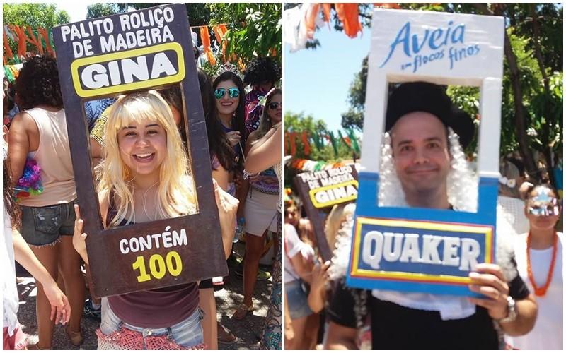 Fantasias foram destaque em Carnaval de Fortaleza (Foto: Carla Soraya)