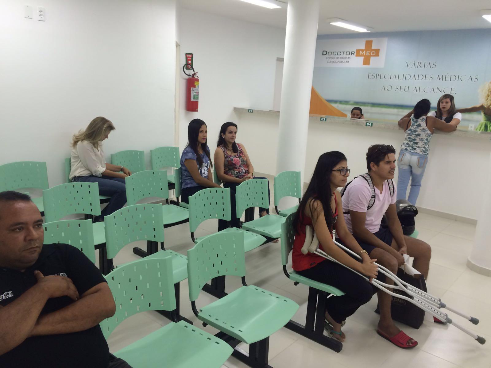 Clínicas populares realizam atendimento com preços abaixo da média (FOTO: Matheus Ribeiro / Tribuna do Ceará)