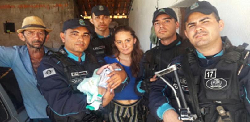 Criança estava desfalecida, convulsionando devido ao alto grau de febre (FOTO: SSPDS/Divulgação)