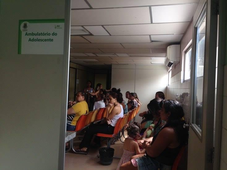 Na maternidade há atendimento a adolescentes de segunda à sexta-feira. (FOTO: Tribuna do Ceará/ Rosana Romão)