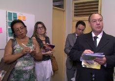 Visita a unidades de saúdes de Fortaleza (FOTO: Reprodução/TV Jangadeiro)